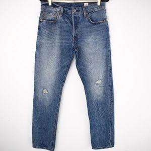 Levi's X White Oak Cone Denim Selvedge 501 Jeans